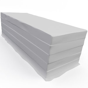 3D concrete landing model