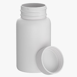 plastic bottle pharma 950ml model