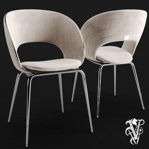 3D model visionnaire chair