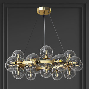 maytoni pendant lamp dallas 3D model