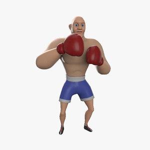 boxer character model