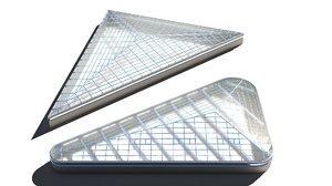 roof exterior architecture 3D model