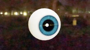 style disney eye 3D model