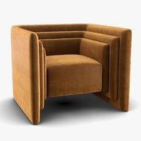 Fabrice Juan - Saint germain slipper chair