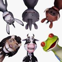 Toon Humanoid Animals Vol 1