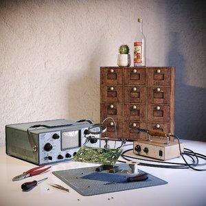 repair set 3D model