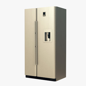 3D generic fridge model