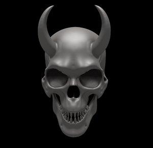 jaw skull model