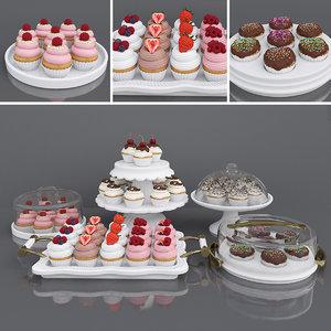 cake cupcake model