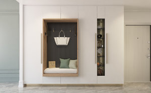 closet entrance 3D