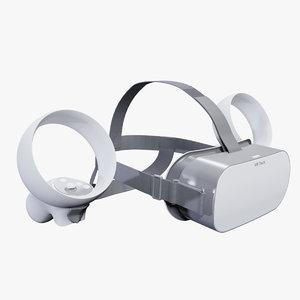3D virtual reality