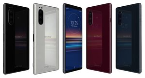 sony xperia 5 colors 3D