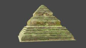 3D jungle pyramid