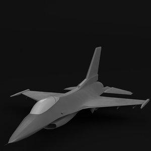 3d f-16 fighting falcon mesh