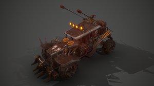 3D battle buggy 1 model