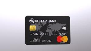 bank card model