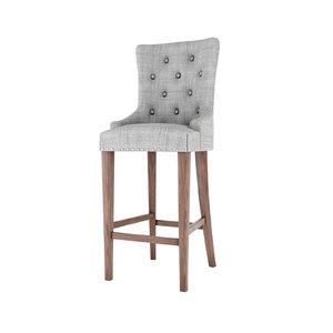 3D bar stools padding seat