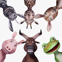 Toon Humanoid Animals V2
