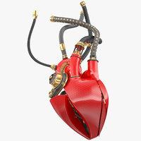 Sci-Fi Artificial Cyber Heart