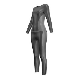 3D wetsuit modeled