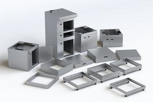 components miwe cube modeled model