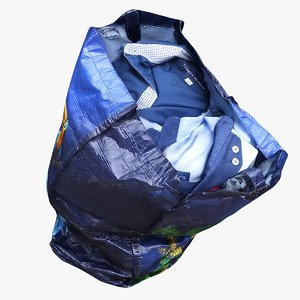 bag clothes 3D model