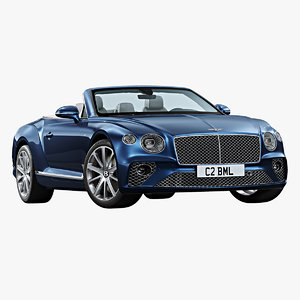 2020 bentley continental gt 3D model