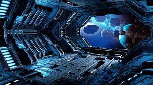 modular hangar spaceships model