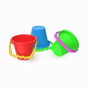 sand pail 3D model