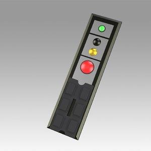 star remote control 3D model
