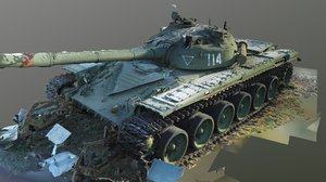 t-72 raw scan 3D model