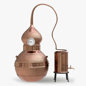 3D copper alembic stills