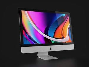 apple imac 27 inch 3D