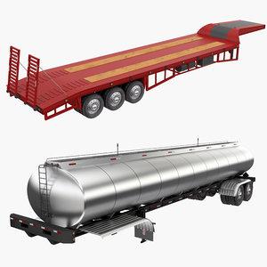 3D trailers tank
