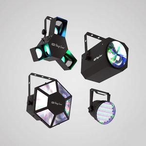 3D light projectors club