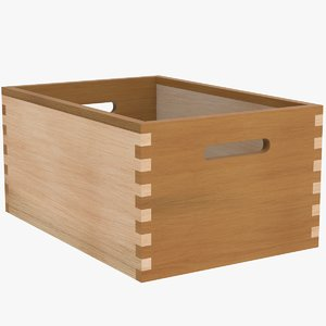 3D wooden rectangle
