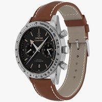 Omega Speedmaster 57 Closed Leather Bracelet