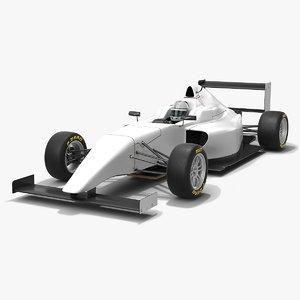 3D tatuus f4 t014 formula