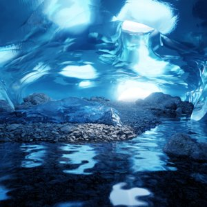 ice cave 3D