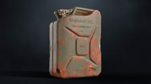 3D jerrycan jerry model