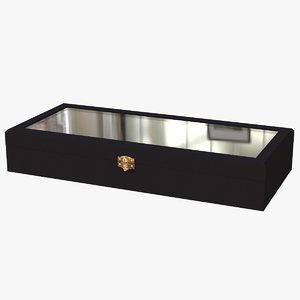 leather jewelry box 3D model