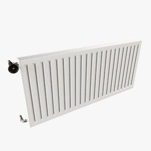 3D panel radiator