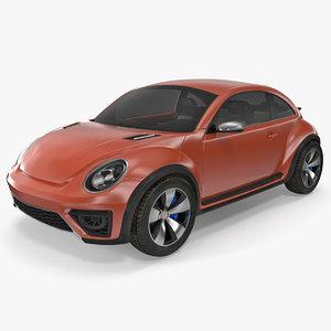 compact car 3D