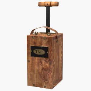 vintage blasting machine detonator model