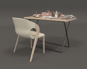 3D model furniture office