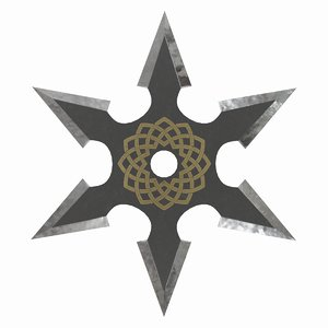 shuriken-8 3D model