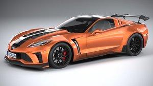 generic sport car model