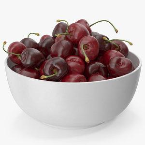 3D cherry plate
