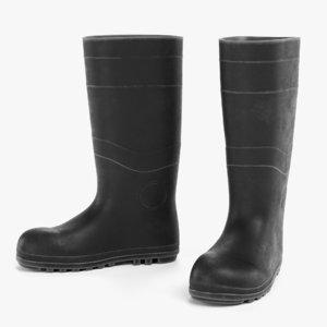 3D model gum boots 2