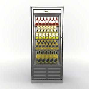 3D wine cabinet enofrigo enogalax